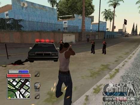C-HUD Unique v4.1 für GTA San Andreas her Screenshot