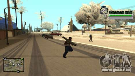 C-HUD v5.0 für GTA San Andreas her Screenshot
