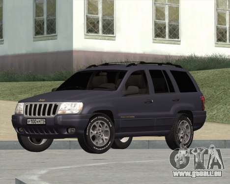 Jeep Grand Cherokee WJ für GTA San Andreas
