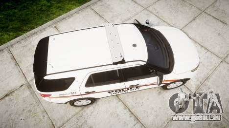 Ford Explorer 2013 Police Interceptor [ELS] für GTA 4 rechte Ansicht