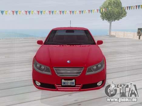 Saab 95 pour GTA San Andreas laissé vue