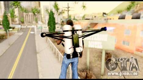 Fury Jetpack from Metal Gear Solid pour GTA San Andreas troisième écran
