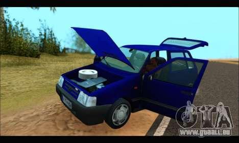 Zastava Yugo Uno pour GTA San Andreas vue de droite