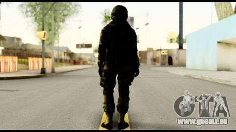 Attack Plane from Battlefield 4 pour GTA San Andreas deuxième écran