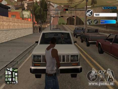 C-HUD by SampHack v.22 für GTA San Andreas