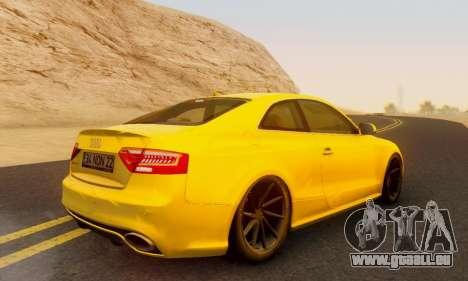 Audi RS5 (RC) für GTA San Andreas linke Ansicht
