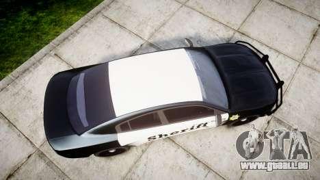 Dodge Charger 2015 County Sheriff [ELS] für GTA 4 rechte Ansicht