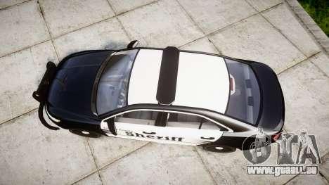 Ford Taurus 2014 County Sheriff [ELS] für GTA 4 rechte Ansicht
