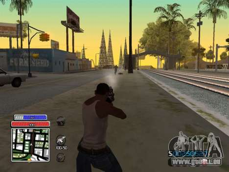 C-HUD Unique v4.1 für GTA San Andreas