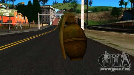 Grenade from GTA 4 für GTA San Andreas