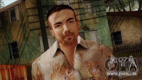 GTA 4 Skin 65 pour GTA San Andreas troisième écran