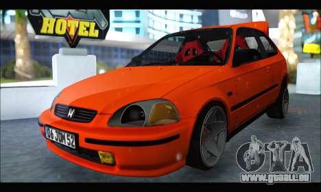 Honda Civic HB (JDM Family) pour GTA San Andreas
