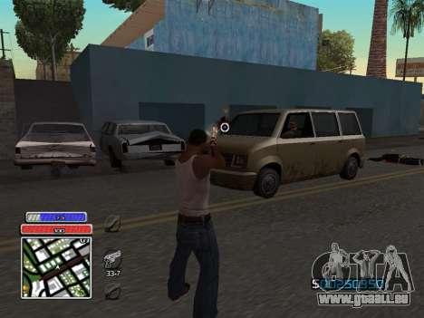 C-HUD Unique v4.1 für GTA San Andreas dritten Screenshot