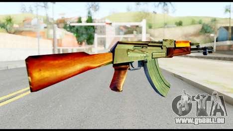 AK47 from Metal Gear Solid pour GTA San Andreas deuxième écran
