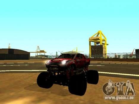 SuperMotoXL Zen MaXXimus CD 17.1 XL-HT pour GTA San Andreas
