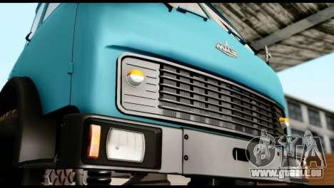 MAZ 500 pour GTA San Andreas sur la vue arrière gauche