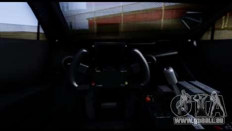 Audi A4 2008 Touring für GTA San Andreas zurück linke Ansicht