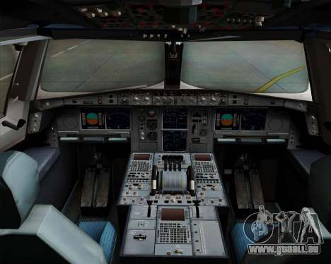 Airbus A380-800 Philippine Airlines pour GTA San Andreas salon