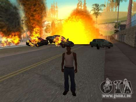 Realistic Effect 3.0 Final Version für GTA San Andreas fünften Screenshot