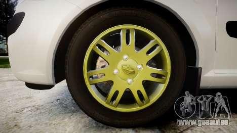 Hyundai Getz 2006 für GTA 4 Rückansicht