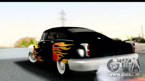 Tucker Torpedo Walker Rocket 1948 für GTA San Andreas linke Ansicht