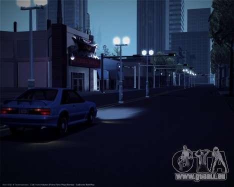 ENBSeries pour les faibles et moyennes PC pour GTA San Andreas troisième écran