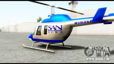 Beta News Maverick pour GTA San Andreas laissé vue