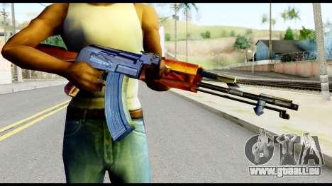 AK47 from Metal Gear Solid pour GTA San Andreas troisième écran