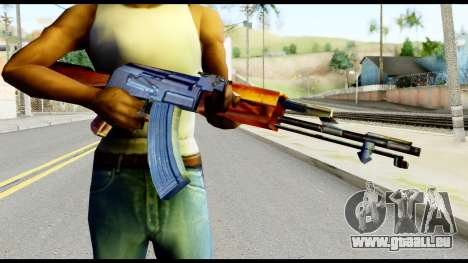 AK47 from Metal Gear Solid für GTA San Andreas dritten Screenshot