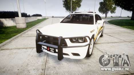 Dodge Charger 2013 Sheriff [ELS] v3.2 pour GTA 4