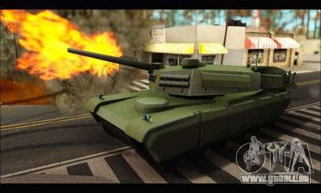 Retextured Rhino Tank für GTA San Andreas linke Ansicht