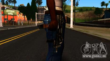 Machine from Shadow Warrior pour GTA San Andreas troisième écran