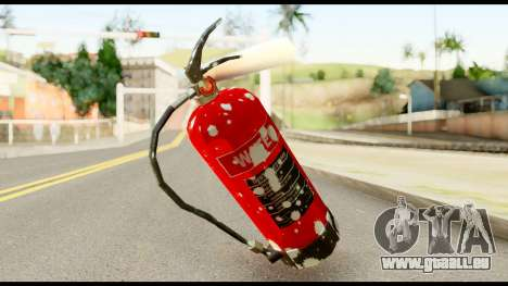 Fire Extinguisher with Blood für GTA San Andreas