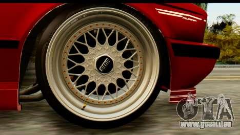 BMW M5 E34 Alpina für GTA San Andreas zurück linke Ansicht