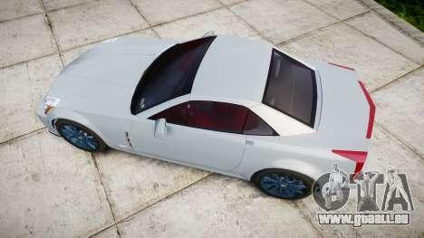 Cadillac XLR-V 2009 pour GTA 4 est un droit