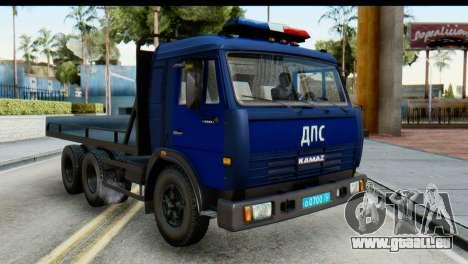 KamAZ 65115 Schlepptau DPS für GTA San Andreas