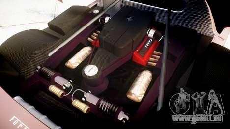 Ferrari Enzo 2002 [EPM] pour GTA 4 est une vue de l'intérieur