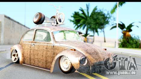 Volkswagen Beetle Vosvos 1973 pour GTA San Andreas