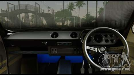 Ford Escort Mark 1 1970 pour GTA San Andreas sur la vue arrière gauche