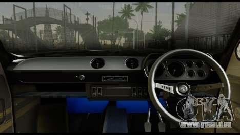 Ford Escort Mark 1 1970 für GTA San Andreas zurück linke Ansicht