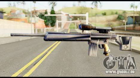 PSG1 from Metal Gear Solid pour GTA San Andreas