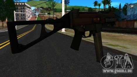 UMP45 from Battlefield 4 v2 für GTA San Andreas zweiten Screenshot
