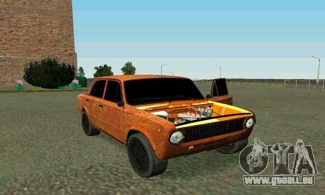 VAZ 2101 Ratlook v2 für GTA San Andreas obere Ansicht