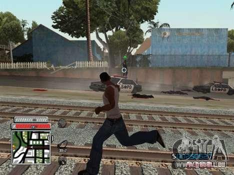 C-HUD Unique v4.1 für GTA San Andreas sechsten Screenshot