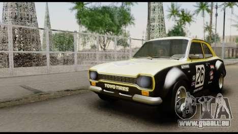 Ford Escort Mark 1 1970 pour GTA San Andreas vue de côté