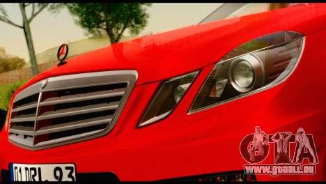 Mercedes-Benz E250 für GTA San Andreas rechten Ansicht