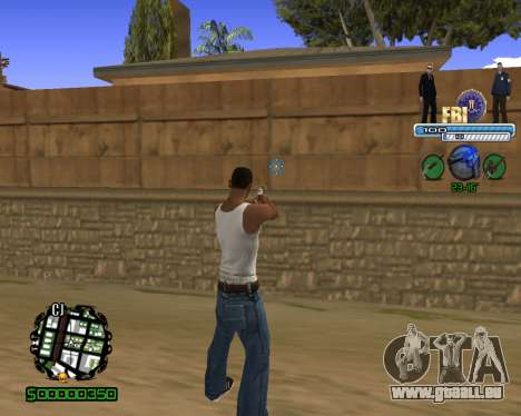 C-HUD FBI für GTA San Andreas zweiten Screenshot