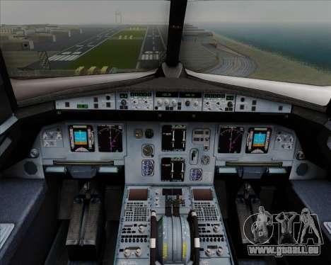Airbus  A320-200 Delta Airlines für GTA San Andreas Innen