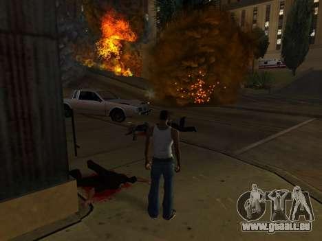 Realistic Effect 3.0 Final Version für GTA San Andreas dritten Screenshot