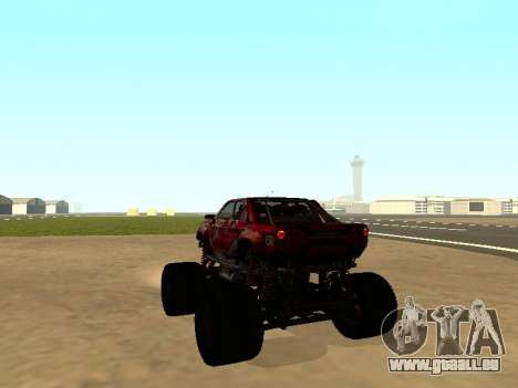 SuperMotoXL Zen MaXXimus CD 17.1 XL-HT pour GTA San Andreas laissé vue